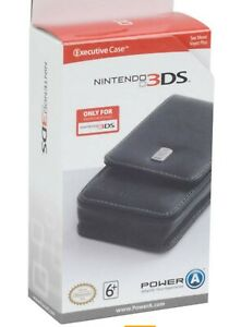 NINTENDO 3DS EXECUTIVE CASE BLACK OFFICIAL LICENSED PRODUCT
