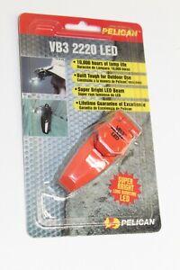 Pelican Flashlight VB3 2220 LED Super Bright Lifetime