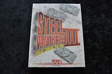 Steel Panthers III 3 Brigade Command 1939 - 1999 Big Box PC Game Sealed