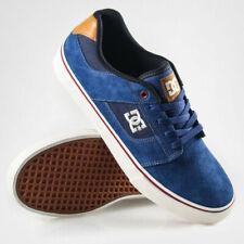 DC Shoes Bridge Skate shoes Trainers 320096 (CNW) - Navy Blue / Wheat