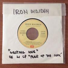 "IRON MAIDEN 'WASTING LOVE' 7"" Ultra Rare Promo Spain"