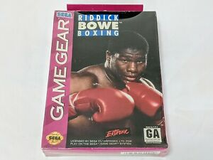 Riddick Bowe Boxing for Sega Game Gear System **BRAND NEW FACTORY SEALED**