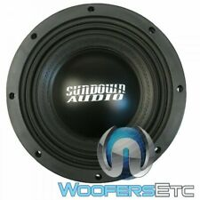 "SUNDOWN AUDIO SD-4 10 D2 SUB 10"" 600W RMS DUAL 2-OHM SUBWOOFER BASS SPEAKER NEW"