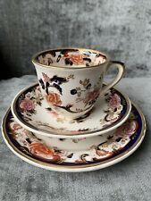 Lovely Masons Patent Ironstone Blue Mandalay Tea cup Trio Saucer Plate