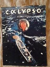 Sheet music Calypso John Denver 1975 print