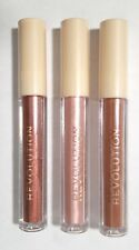 REVOLUTION (Make Up) Nudes Collection Metallic Gloss CHOOSE SHADE - NEW Sealed