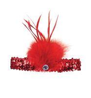 Burlesque Mujer Flapper Charleston # diademas Disfraz Gatsby años 20 Accesorio