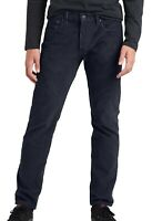 Levi's-502 Mens Pants Nightwatch Blue Size 34x30 Taper Stretch Corduroy $69 349