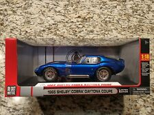 1965 SHELBY COBRA Daytona Coupe DieCast Shelby Collectibles Limited Edition 1:18