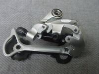 silber RD-T 661 ////9 speed  silber Schaltwerk Shimano  Deore LX