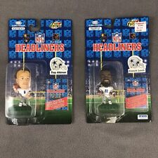 Troy Aikman & Emmitt Smith NFL Headliners Action Figures Vintage 1996 New Sealed