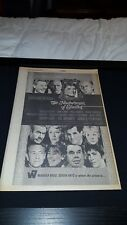 The Madwoman Of Chaillot Katherine Hepburn Rare 1968 Promo Poster Ad Framed!