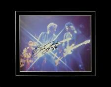**BRUCE SPRINGSTEEN SIGNED AUTOGRAPH PHOTO DISPLAY AUTHENTIC GUITAR HOF LEGEND**