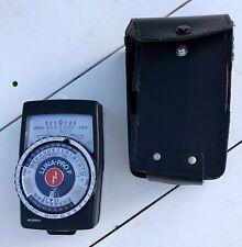 Gossen LUNA PRO-F light meter w/ case