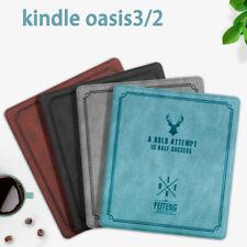 Amazon Kindle Oasis 2 3 Vintage Slim Folding PU Leather Tablet Book Case Cover