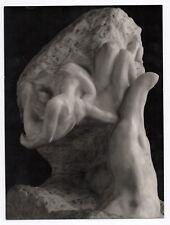 PHOTO ANCIENNE MAIN Auguste RODIN LA MAIN DE DIEU OU LA CRÉATION Vers 1950