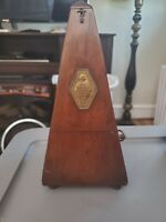 VINTAGE METRONOME MAELZEL PAQUET FRANCE  1815-1846 FRENCH MADE  .. WORKING