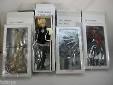 """13"""" BLACK CANARY TONNER DOLL 3 OUTFITS SILVER SHIMMER MIDAS TOUCH VELVET DAZZLE"""