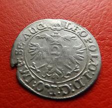 * Hagenau 1/2 Batzen zu 2 Kreuzer 1667 Silber * (41)(Alb.2)