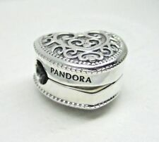 NEW Authentic Pandora #797024 Enchanted Heart Sterling Silver Bead