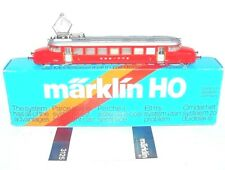 "Marklin AC HO 1:87 Swiss SBB FFS ""RED ARROW"" Electric RAILCAR #3125 MIB`85 RARE!"