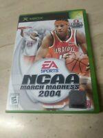 NCAA March Madness 2004 (Microsoft Xbox, 2003)