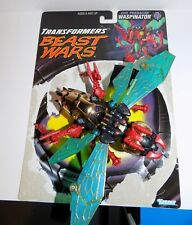BEAST WARS Transformers TRANSMETA WASPINATOR LOOSE COMPLETE WITH CARD