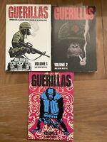 Guerillas TPB Lot Vol 1 2 3 One Press TPB Graphic Novel