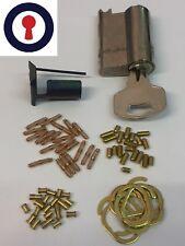 Maintenance practise Locks kit Euro cylinder repinning 1st P&P