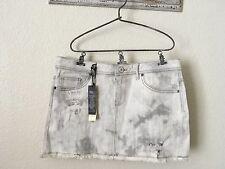 London Jean Victorias Secret Sz 6 Distressed Denim Mini Skirt NWT