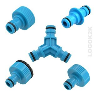 Tap Garden Hose Joiner Connector Adaptor Coupler Water Pipe Tap Adapter Male