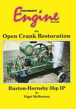 "Stationary Engine Magazine On ""Open Crank Restoration"" - Ruston Hornsby 5hp Book"