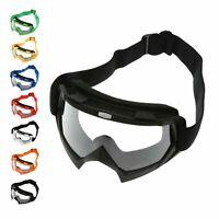 Motocross Off-Road ATV Dirt Bike Racing Goggles Clear Lens Motorcycle Eyewear