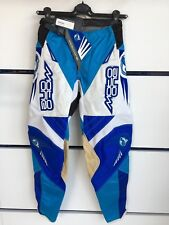 MOTO ONE GIAVERA TG 28 BLU PANTALONI CROSS PANTS OFF ROAD MOTOCROSS ENDURO MX DH