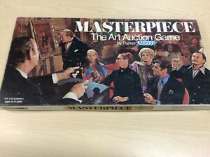 Masterpiece Board Game - The Art Auction Game (1970 Parker) - COMPLETE