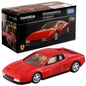 Takara Tomy TOMICA Premium No.06 Ferrari Testarossa 1:61 MINI Diecast Toy Car