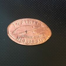 Infinity Science Center Mississippi Pressed Elongated Penny Copper