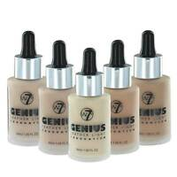 W7 Genius Feather Light Foundation - Choose Your Shade