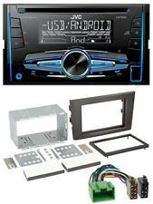JVC MP3 USB CD 2DIN AUX Autoradio für Volvo XC 90 07-14 16 Pin