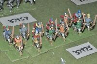 25mm medieval / english - wars of roses archers 12 figures - inf (37975)