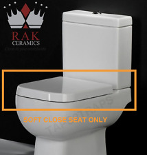 Quick Release Soft Close RAK Series 600 Toilet Seat - Hinges Included
