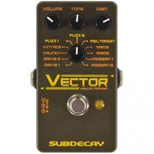 Subdecay Vector Preamp Pedal Verzerrer NEU NEW