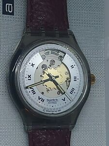 Men's 1991 Swatch Rubin Automatic Watch - NEW OLD STOCK - RARE!!
