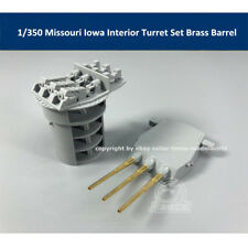 1/350 Missouri Iowa Tamiya 78029 Interior Turret Set Brass Barrel CYG027