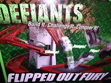 Defiants Flipped Out Fury Motorized All-terrain Vehicle & Stunt Set RARE 12' NEW