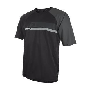 T-Shirt Downhill And Mountain Bike o'Neal Pin It Jersey Black/Gray