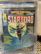 Marvel Preview #4 CGC 6.0 Origin & 1st App Star-Lord, Never Pressed