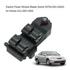 Electric Power Window Master Switch 35750-S5A-A02ZA for Honda Civic 01-05 P8E6