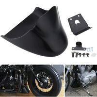 Glossy Black Front Spoiler Chin Fairing fit for Harley Sportster XL1200 Iron 883