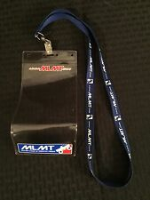 Major League of Monster Trucks Credential Holder & Lanyard - RARE